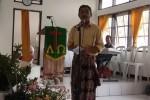 sambutan mewakili Jemaat