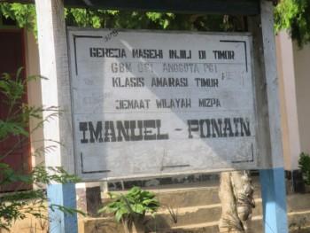 Gedung Gereja Jemaat Imanuel Ponain