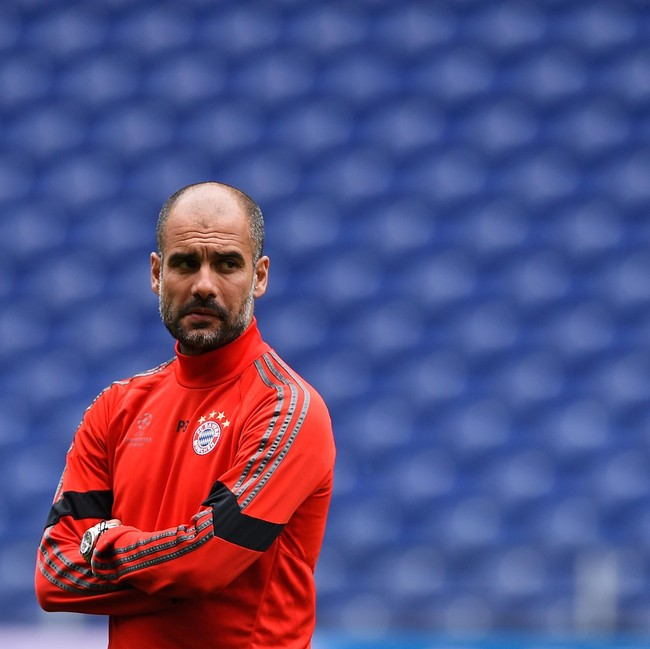 Pelatih bayer muenchen, Guardiola