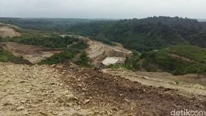 Lokasi pembangunan Bendungan Reknamo