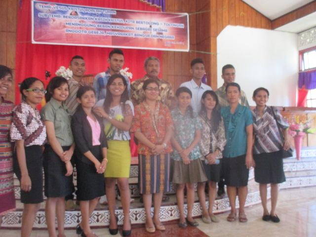 KTB PMK FMIPA bersama Pdt. Ivonei C. Isliko-Nalle