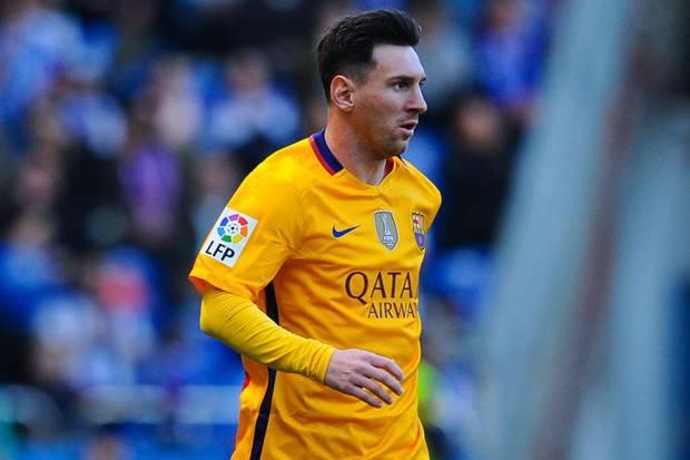 Lionel Messi kembali dilanda cedera