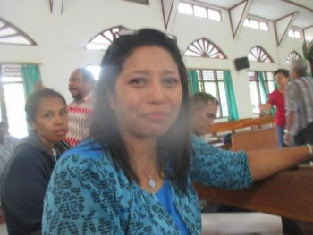 Pdt. Sherly Parinussa, S.Th/ Pelayan di GKI di Tanah Papua, Manokwari