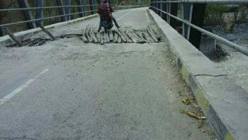 Kondisi jembatan maiakolen
