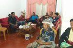 Keluarga besar AKP. Tonce Manao (sumber foto : Facebook Jean Neunufa)