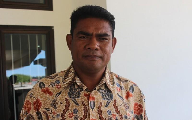 Soleman Dato, salah satu masyarakat Desa Tuasene