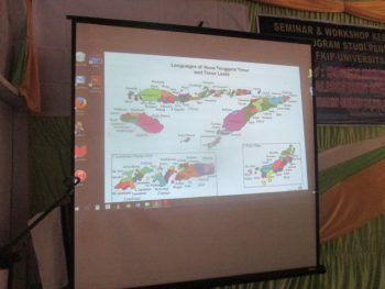 Peta bahasa-bahasa di Nusa Tenggara Timur
